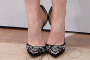 Louise Bourgoin Evening Pumps