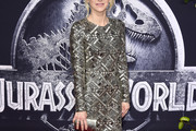 Anna Faris Beaded Dress