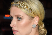 Nicky Hilton Twisted Bun