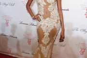 Jessica White Evening Dress
