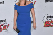 Natasha Henstridge Off-the-Shoulder Dress