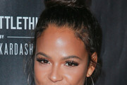 Christina Milian Hair Knot
