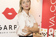 Maria Sharapova Button Down Shirt