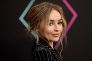 Sabrina Carpenter Messy Updo