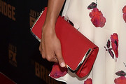 Stephanie Sigman Leather Clutch
