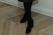 Kelly Rutherford Knee High Boots