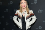 Tiffany Shlain Motorcycle Jacket