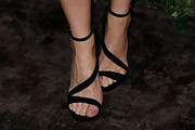Gillian Anderson Strappy Sandals