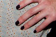 Isabel Edvardsson Dark Nail Polish