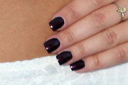 Audrina Patridge Dark Nail Polish