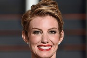 Faith Hill Messy Cut