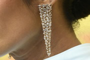Padma Lakshmi Dangling Diamond Earrings
