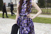 Sarah Margaret Qualley Day Dress