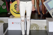 Katie Cassidy Ripped Jeans