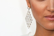 Paula Garces Sterling Chandelier Earrings