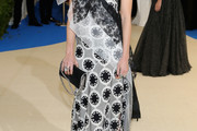Dree Hemingway Embroidered Dress