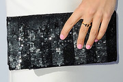 Eugenie Bouchard Sequined Clutch