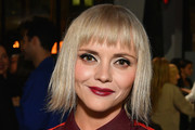 Christina Ricci Short Cut With Bangs