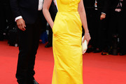 Ludivine Sagnier Strapless Dress