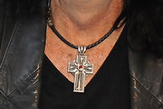 Alice Cooper Cross Pendant