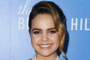 Bailee Madison Loose Bun