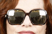 Isabelle Huppert Square Sunglasses