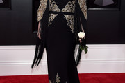 Kelly Clarkson Embroidered Dress