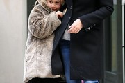 Coco Arquette Fur Coat