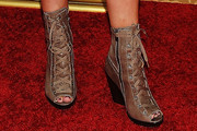 Andrea Roth Wedge Boots