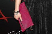Lindsey Marie Shaw Leather Clutch