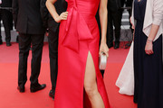 Petra Nemcova One Shoulder Dress