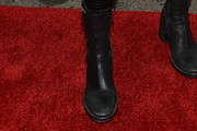 Kylie Jenner Motorcycle Boots