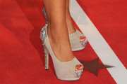 Jo Joyner Peep Toe Pumps