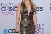 Alison Sweeney Beaded Dress