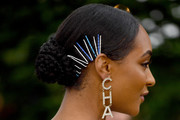 Jourdan Dunn Braided Bun