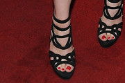 Gillian Jacobs Strappy Sandals