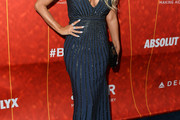 Carmen Electra Beaded Dress