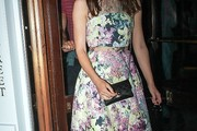 Keira Knightley Print Dress