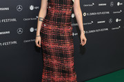 Kristen Stewart Strapless Dress