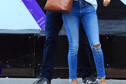 Meghan Markle Ripped Jeans