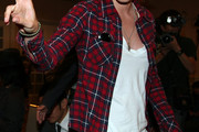Katherine Moennig Button Down Shirt