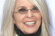 Diane Keaton Medium Straight Cut