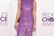 Ashley Greene Sequin Dress