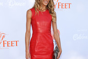 Sharni Vinson Leather Dress