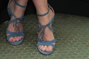 Emily Blunt Strappy Sandals