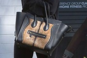 Ashlee Simpson Leather Tote