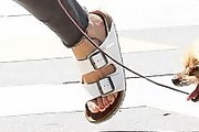 Naomi Watts Slide Sandals
