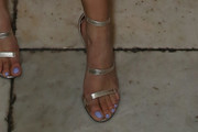 Storm Reid Strappy Sandals