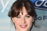 Zooey Deschanel Ponytail