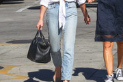 Ashley Greene Boyfriend Jeans